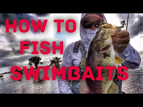 How to Fish Weedless Swimbaits - Bass Fishing in the Grass