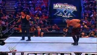 Undertaker VS. Kane (At Wrestlemania 20) Part 2(PT. 1 REMOVED)