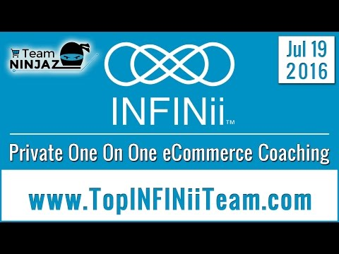 INFINii Private One On One Coaching Expert eCommerce Business Training TeamNinjaz