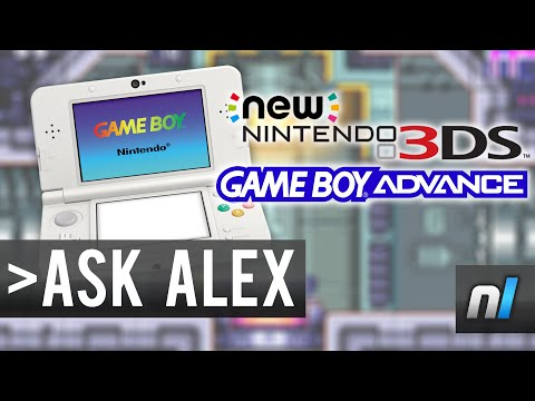 GBA Virtual Console on the New Nintendo 3DS | Ask Alex #12