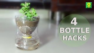 4 Amesome Ideas using plastic bottles | Life Hacks