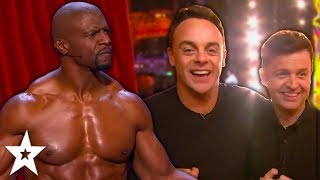 TOP 10 HOST Moments On Britain's And America's Got Talent!   Got Talent Global