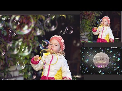 How to Add Bubbles in Photoshop