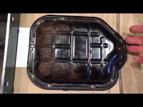 Nissan Murano Oil Pan Replacement DIY.