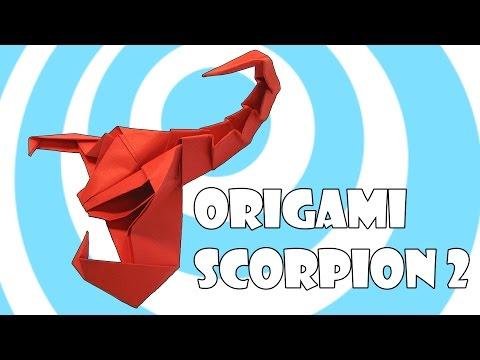 Paper Origami Scorpion 2 Instructions (Origamite)