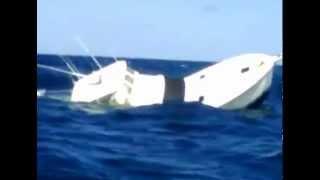 Black Marlin Sinks Fishing Boat in Panama.