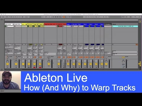 Warping Tracks to Change Tempo and Key on the Fly - Ableton Live Tutorial