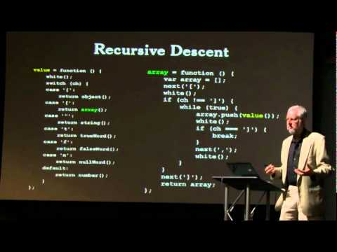 Crockford on JavaScript - Act III: Function the Ultimate