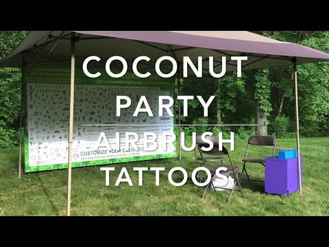 Make Your Own Temporary Tattoo Party Ideas For Kids - Coconut Party Rental