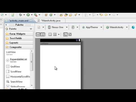 Android  23  How to create listview and put xml file data to listview