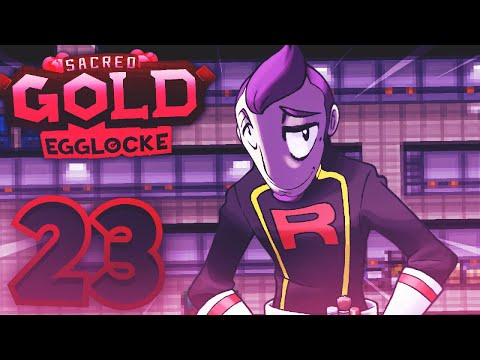 TEAM ROCKET HQ and PETREL | Pokemon Sacred Gold Egglocke w/ TheHeatedMo - 23