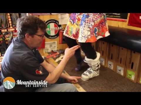 Apline Ski Boot Fitting - Part 1