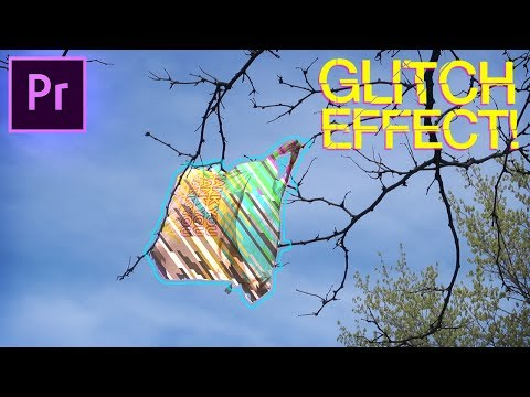 Adobe Premiere Pro Tutorial: Colorful GLITCH Fill Music Video Effect! (CC 2017 How to)