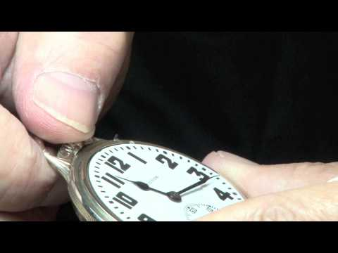 How to Set a Railroad Lever Set Pocket Watch by The Pocket Watch Guy
