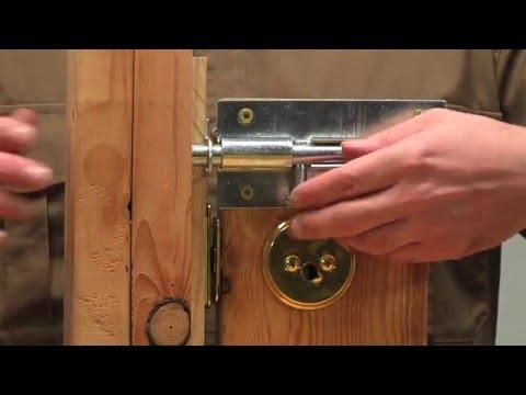 Home Security (Residential Door Security - Deadbolt Locks - Lock Bumping - Drill Attack)