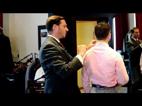 How to Measure Collar Size on a Men's Shirt : Men's Styling Advice
