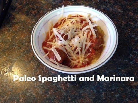 Crock Pot Only- Sausage Marinara & Spaghetti Squash - PALEO LARGE FAMILY  COOKING