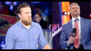 #Royalrumble Daniel Bryan MAJOR Argument With Vince McMahon Backstage 2018 news