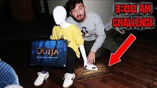(IT MOVED) DONT PLAY WITH A MANNEQUIN & OUIJA BOARD AT 3 AM | THE MANNEQUIN CAME TO LIFE