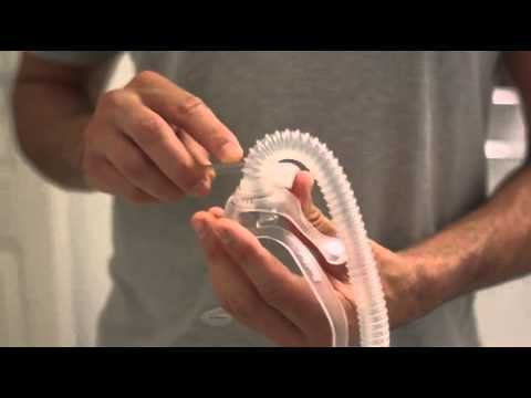 How to clean and assemble your AirFit™ N10 nasal CPAP mask