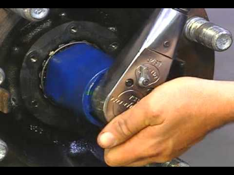 How to adjust a Wheel Bearing on a Front Non-Drive Axle