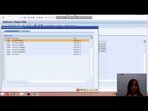 PART 2 CREATING RELATIONSHIP TWO TABLE TABLE WITH FOREIGN KEY SAP