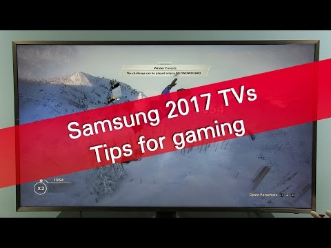 Samsung 2017 TVs tips for gaming