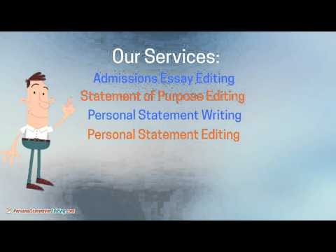 Best Personal Statement Editing Service