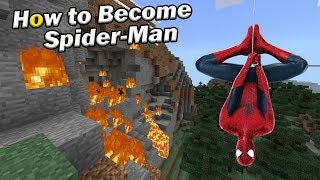 How to Become Spider-Man | Minecraft PE