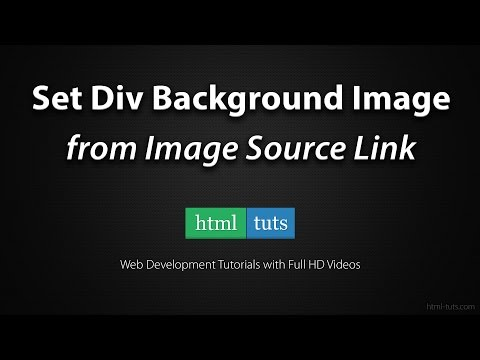 Set Div Background Image from Image Src Link with jQuery