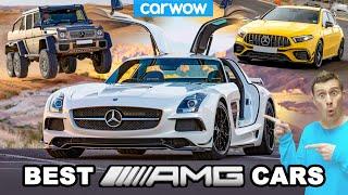 The 15 greatest AMG cars!