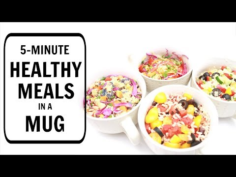 5-Minute Meals in a Mug for Students (Healthy Recipes) | Joanna Soh