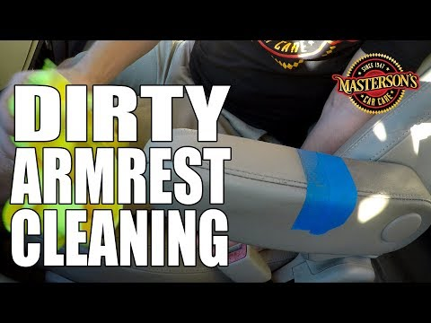 How To Clean Dirty Armrests - Masterson's Car Care - Detailing Tips & Tricks