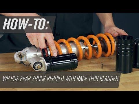 How To Rebuild KTM/Husqvarna WP PDS Rear Motorcycle Shock