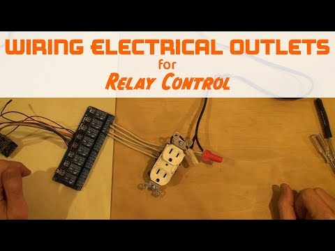 Control an electrical outlet with 2 relays for WeMos Arduino Raspberry Pi Home Automation