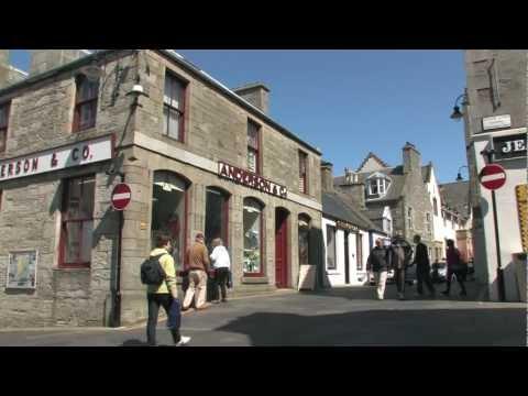 Lerwick, Shetland Islands, 2012 : Op stap