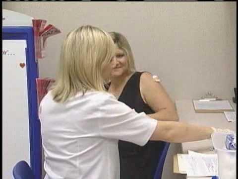 Seasonal Flu Vaccinations Given At Local Pharmacies