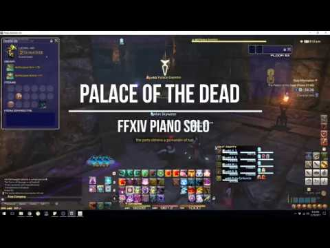 Palace of the Dead (Final Fantasy XIV) Piano Arrangement + Sheet Music