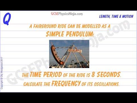 Simple Pendulum Equation - Calculation - GCSE Physics