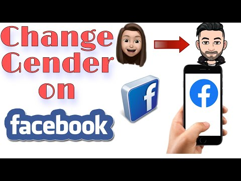 How to change your gender on facebook