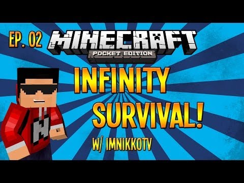 [0.8.1] Minecraft Pocket Edition Infinity Ep. 02 :