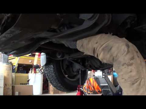 Changing the Transmission Fluid in a 1988 Ford Ranger with Transmission Problems