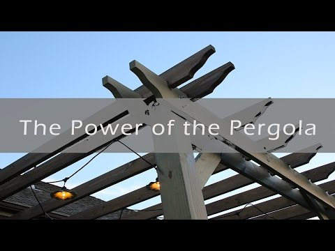 Add A Pergola To Your Manufactured Home