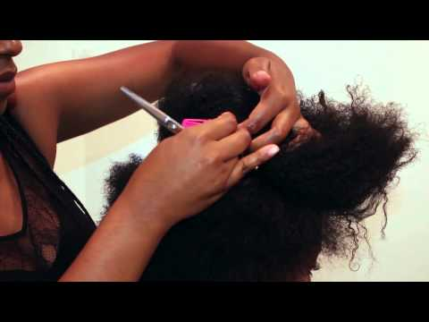 How to| Tapered Cut on Natural hair