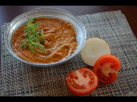 Tomato Onion Chutney | South Indian Chutney recipes