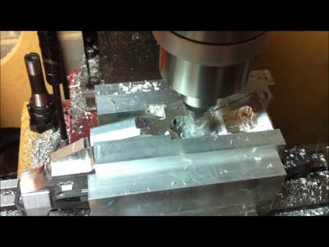 CNC Milling an AR-15 Receiver From Scratch Chapter 6: FCG and Magwell Bottom