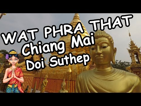 Wat Phra That Doi Suthep Chiang Mai, Thailand