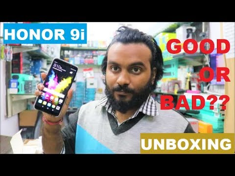 Honor 9i   Unboxing   Mid-Range Phone For 2018 !!