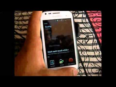 How to record the screen of galaxy s duos
