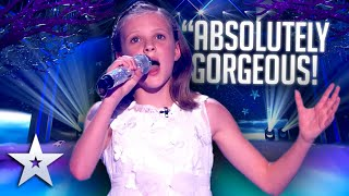 This litte girl made her mum the PROUDEST IN THE WORLD!   Live Shows   BGT Series 9